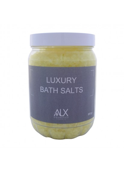 ALX Luxury Bath Salts Καρύδα